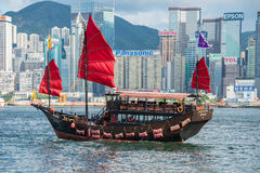 Hong Kong - JULY 27, 2014 Royalty Free Stock Photos