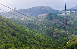 HONG KONG, JUNE 09, Ngong Ping 360 is a tourism project on Lanta Stock Images