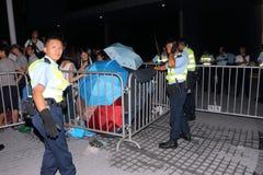 Hong Kong klasy bojkota kampania 2014 Obrazy Royalty Free