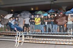 Hong Kong klasy bojkota kampania 2014 Zdjęcie Stock