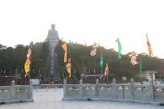 Hong Kong: Kloster för Po Lin Royaltyfria Foton