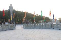 Hong Kong: Kloster för Po Lin Royaltyfria Bilder