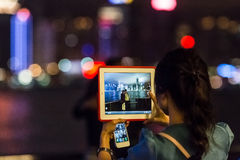 Hong Kong knäpp Arkivbild