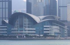 Hong Kong konwencja i Powystawowy centrum fotografia royalty free