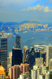 Hong kong and Kowloon Royalty Free Stock Photos