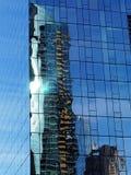 hong kong kowloon odbić drapacz chmur Fotografia Stock