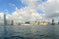 Hong Kong Kowloon Skyline Fotografia Stock Libera da Diritti