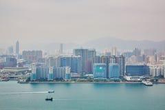 hong kong krajobraz Obrazy Royalty Free