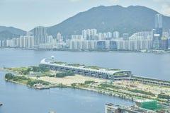 hong kong krajobraz Fotografia Royalty Free