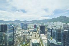 hong kong krajobraz Obrazy Stock