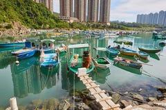 hong kong krajobraz Zdjęcie Stock