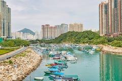 hong kong krajobraz Fotografia Stock