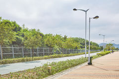 hong kong krajobraz Zdjęcia Royalty Free