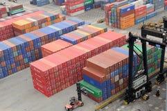 Hong Kong Kwai Chung Container Terminal Royalty Free Stock Photography