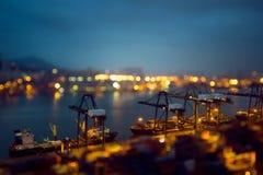 Hong Kong Kwai Chung Wharf 2016 Fotografia Stock