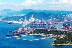 Hong Kong Kwai Tsing zbiornika terminale Fotografia Stock