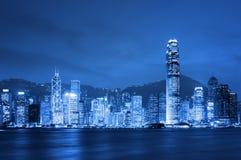 Hong Kong la nuit. Photo libre de droits