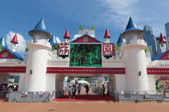Hong Kong: Lai Yuen Amusement-park 2015 Stock Foto