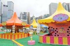 Hong Kong: Lai Yuen Super Summer 2015 Fotografia de Stock Royalty Free