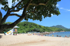Hong Kong Lamma Island landscape view Stock Images