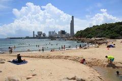 Hong Kong Lamma Island landscape view Stock Image