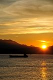 Hong kong lamma island---sunset Stock Photos