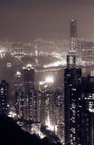 Hong Kong landmark royaltyfri foto