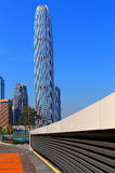 Hong kong landmark ifc centre Stock Photo