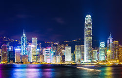 Hong Kong landmark Royalty Free Stock Photos