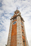 Hong Kong Landmark: Tsim Sha Tsui Clock Tower Imagenes de archivo