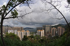Hong Kong landscape Royalty Free Stock Photography