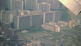 Hong Kong-Landung stock video