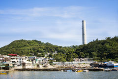 Hong Kong lantau island. And blue sky Stock Photo