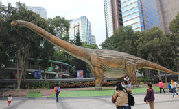 Hong Kong Legends of the Giant Dinosaurs exhibitio Stock Images