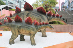 Hong Kong Legends of the Giant Dinosaurs exhibition Stock Photography