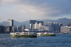 Hong Kong liggande Royaltyfri Foto