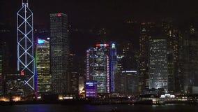 hong kong light show απόθεμα βίντεο