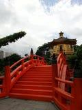 Hong Kong lin kloster po Royaltyfri Fotografi