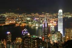 hong kong linia horyzontu Zdjęcia Royalty Free
