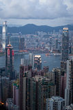 Hong Kong Linia horyzontu Zdjęcie Royalty Free