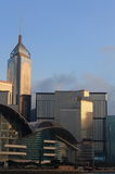 Hong Kong Linia horyzontu. Zdjęcia Royalty Free