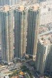 Hong Kong linia horyzontu podczas dnia Fotografia Stock