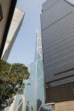 Hong Kong linia horyzontu podczas dnia Obrazy Royalty Free
