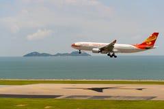 Hong Kong linie lotnicze fotografia stock