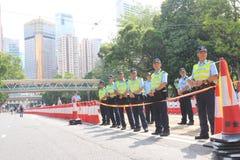 Hong Kong 1 Lipiec Maszeruje 2014 Fotografia Royalty Free