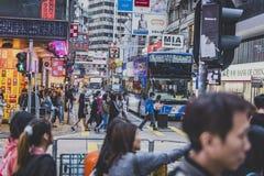 Hong Kong, Listopad 2018 - piękny miasto obraz royalty free