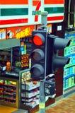 Hong Kong ljus trafik Fotografering för Bildbyråer