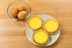 Hong Kong Local food, Egg tart Royalty Free Stock Images