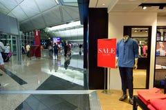 Hong Kong lotniska międzynarodowego wnętrze Obraz Stock