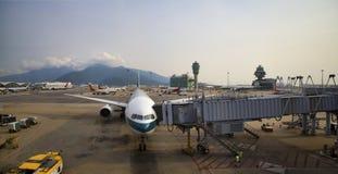 Hong Kong lotnisko zdjęcia royalty free